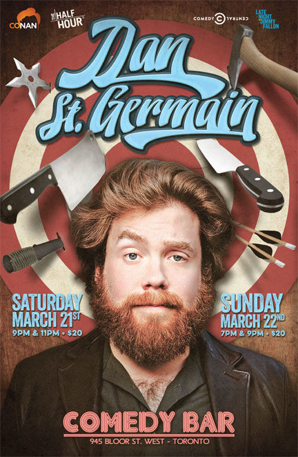 Dan St Germain – Live in Toronto March 20-22!