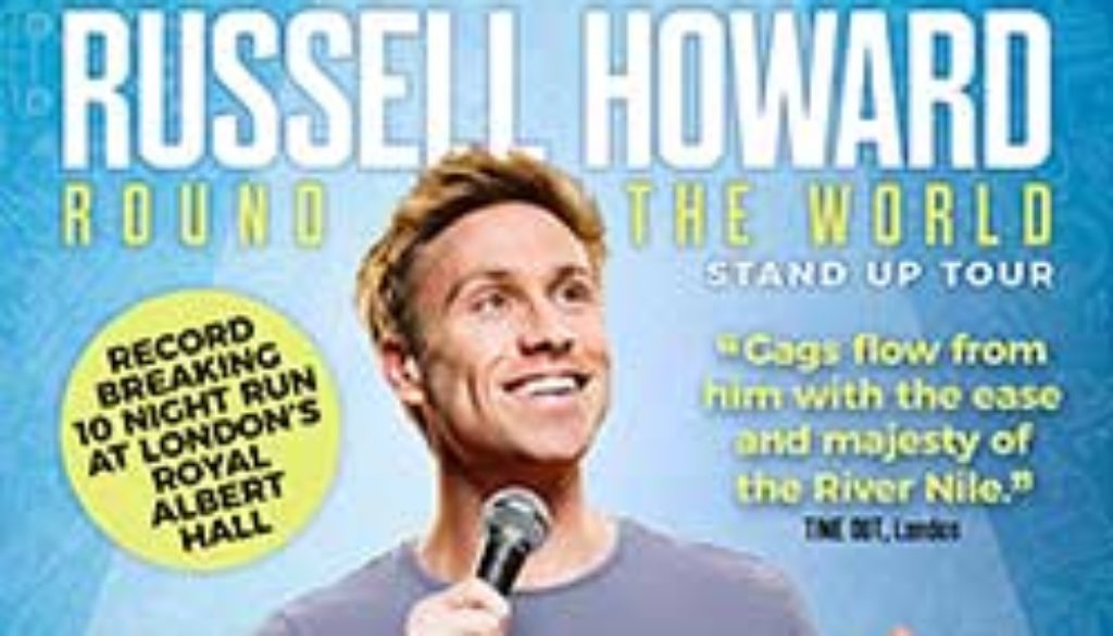 Russell Howard – Ottawa – April 28